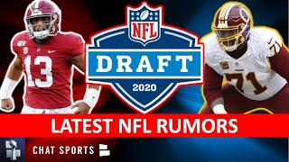 NFL Rumors & News: Dolphins Passing On Tua? Falcons & Chase Young? Trent Williams Trade? Tom Brady?