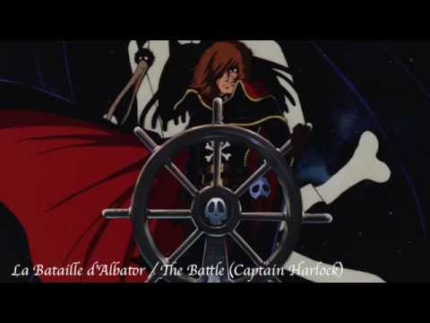 La bataille d'Albator / The battle (Captain Harlock) cover / Nym