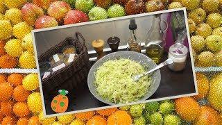 №2. Салат из капусты с семечками