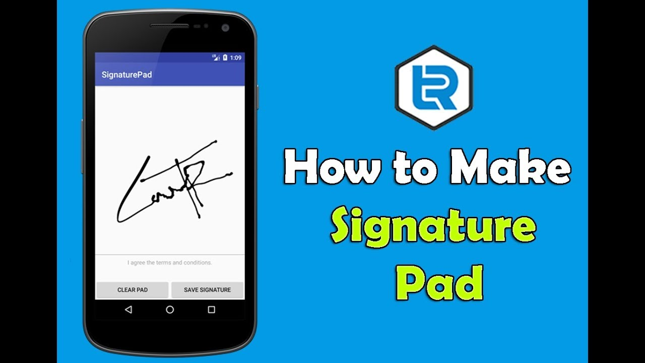 Android Studio - How to make Signature Pad