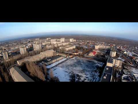 Уварово аэросъёмка, полёт над Обловкой в Тамбовской области на DJI PHANTOM 2