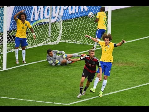 Brazil Vs Germany 1-7 2014 Highlights (2014 FIFA World Cup Brazil)