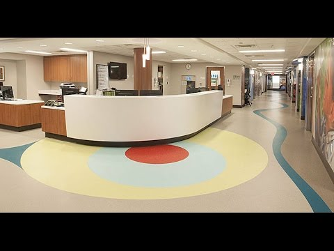 Children's Hospital of Alabama  |  Birmingham, AL  |  nora® flooring