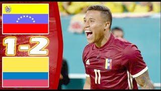 Venezuela Vs Colombia (1-2) | Resumen y Goles COMPLETOS HD | Amistoso Internacional 2018
