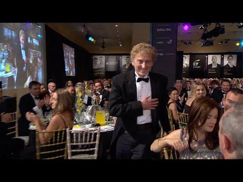 SOSV's Sean O'Sullivan Wins the 2018 Entrepreneur of the Year Award in Ireland (Full Intro & Speech)