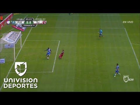 Error de comunicación entre Félix Micolta y Moisés Muñoz que por poco termina en gol de Xolos