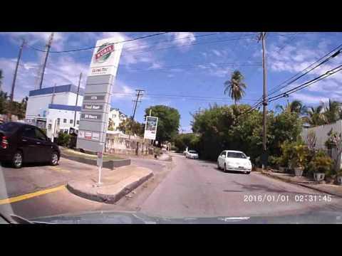 Driving in Barbados - Speightstown To Bridgetown July 2017