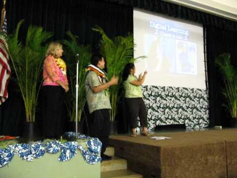 Darren Tanaka -  Hawaii - at Kailua Elementary School Library - Top School Library