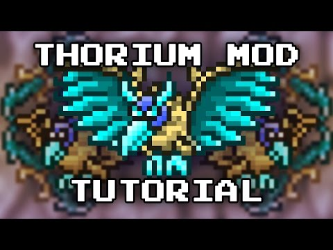 Terraria Tutorial - Thorium Mod; How To Install