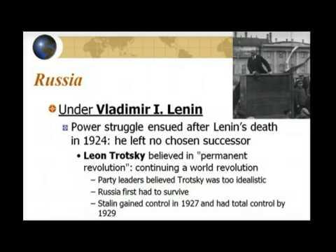 Unit 9.1 Totalitarianism in Russia