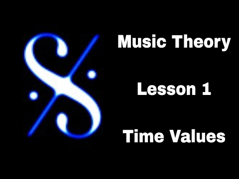 Grade 1 Music Theory -  Time Values - Lesson 1