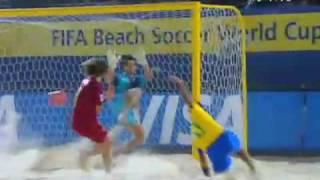 Brazil 8x2 Portugal - Fifa Beach Soccer World Cup - Semifinal - Dubai 2009