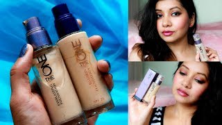 Oriflame's The One Everlasting Foundation Review & in comparison to Oriflame's Illuskin Foundation