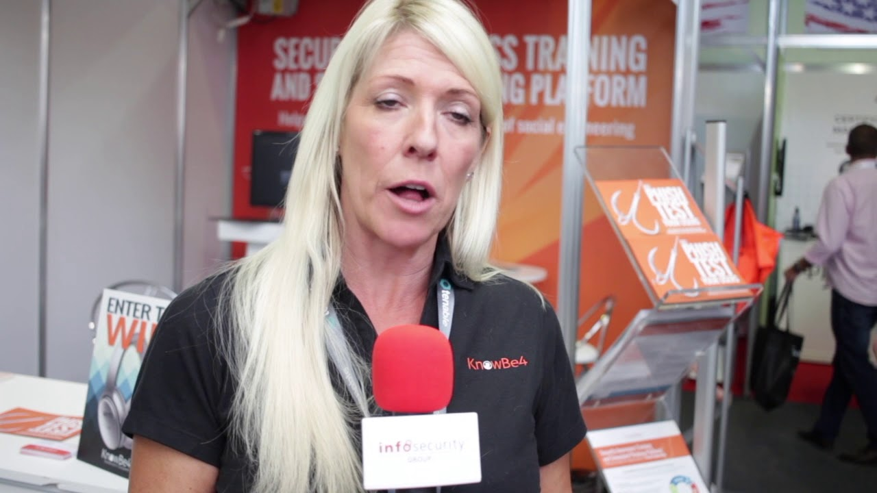 #infoSec18 - We talk to Ruth Schofield, MD, KnowBe4