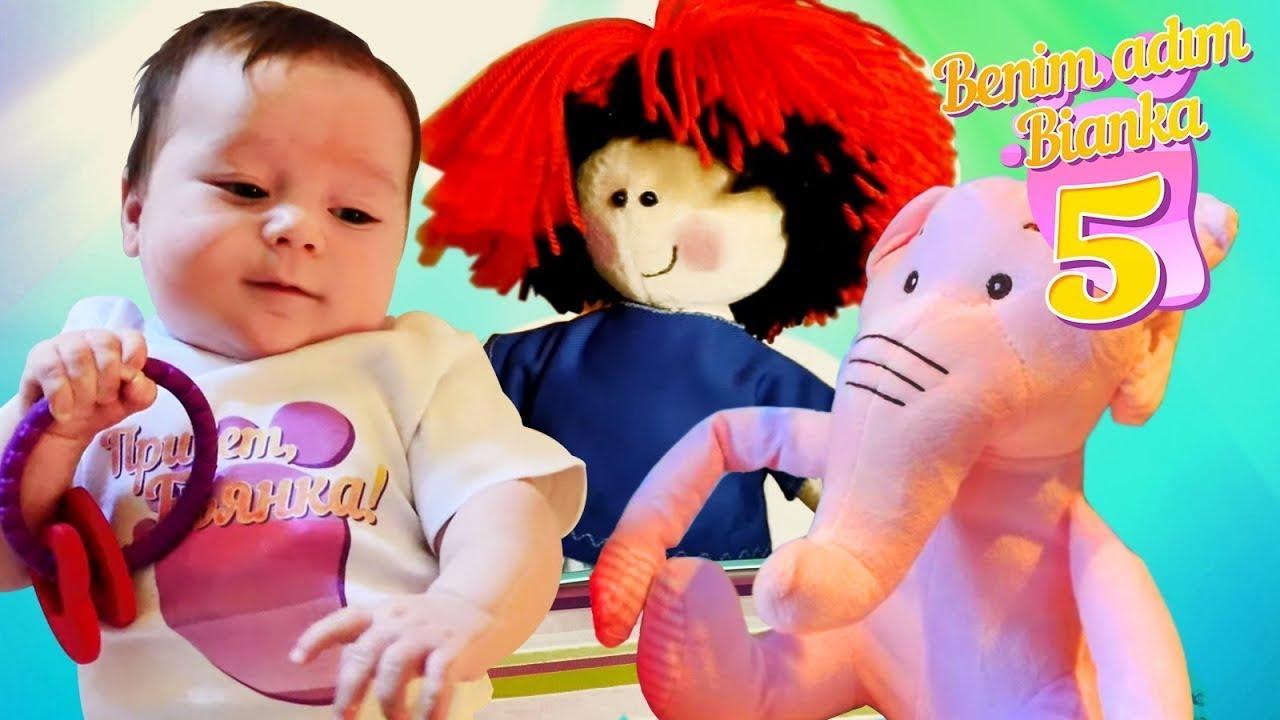 Bebek giyim oyunları. Benim adım Bianka 5 bölüm. Kız oyunları.