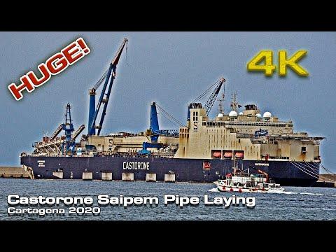 Castorone Saipem Pipe Laying Vessel!
