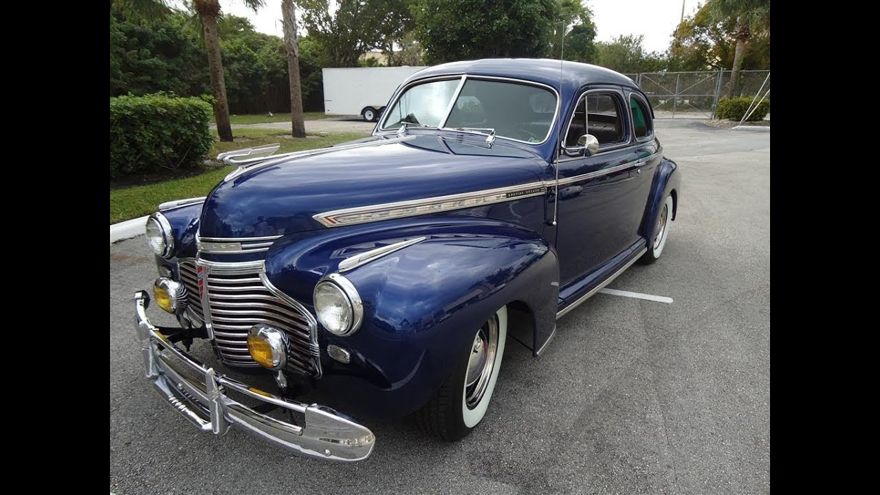 1941 Chevrolet Special Deluxe Modified SOLD!!! - YouTube
