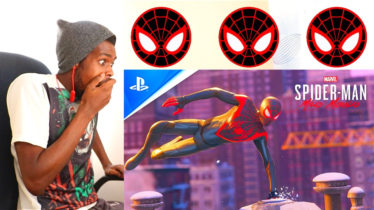Marvel's Spider-Man: Miles Morales Launch Trailer I PS5, PS4 REACTION VIDEO!!!