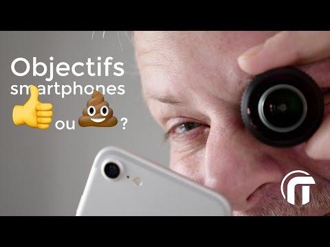 Objectifs pour smartphone, pour ou contre ?