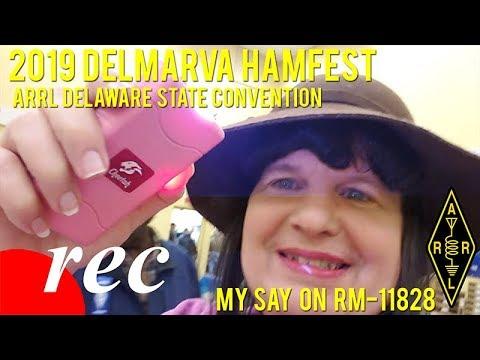 Video: 2019 Delmarva Hamfest and My Say on RM-11828 (ARRL