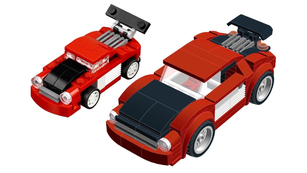 2017 Lego Creator 31055 Scaled Up Moc Car Building Instructions