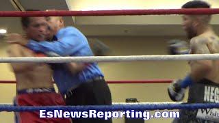 Referee has moves like Hulk Hogan - EsNews Boxing