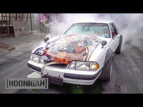[HOONIGAN] DT 064: Burnout 'til it Breaks (Japanese-Inspired Foxbody Mustang)