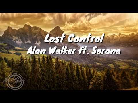 Alan Walker - Lost Control Ft. Sorana (Lyrics)
