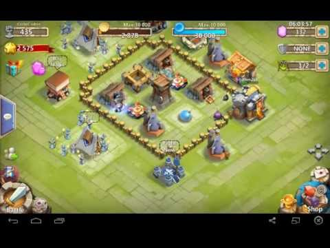 Castle Clash : Town Hall Lvl 4