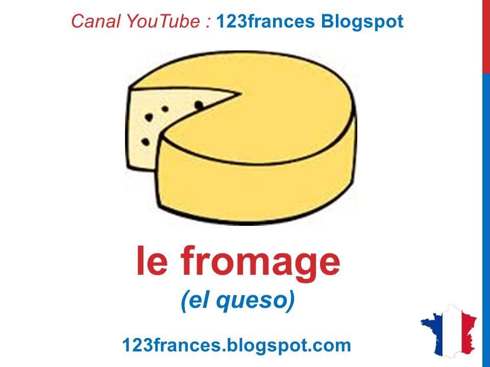 Curso de franc s 28 los productos l cteos en franc s for Las comidas en frances