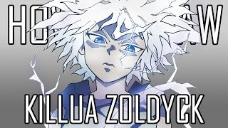 Draw Killua Zoldyck - Quick Simple Easy How To Steps For Beginners 17