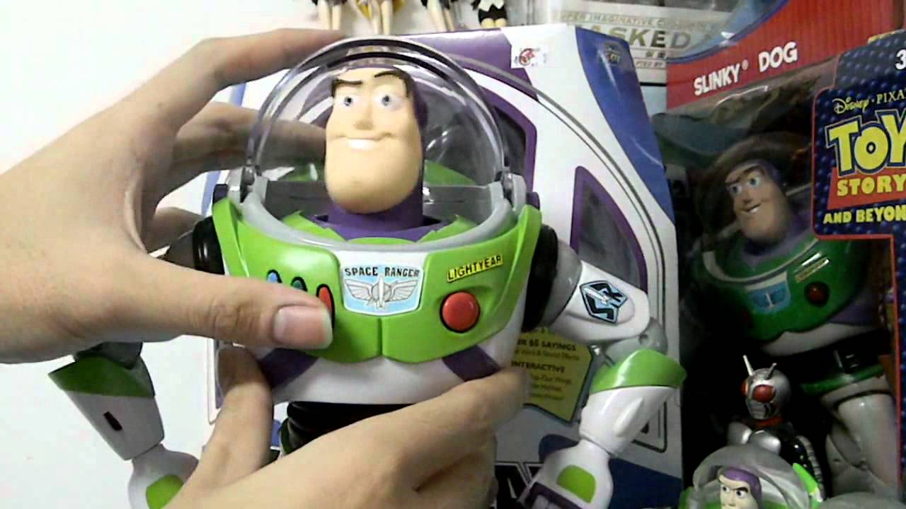 Toy Story Collection Buzz Lightyear Space Ranger Youtube
