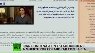 Irán sentencia a pena de muerte a un espía estadounidense