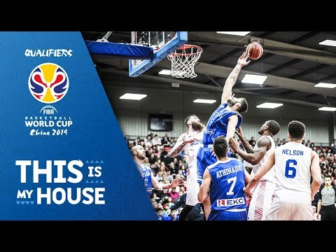 Great Britain v Greece - Full Game - FIBA Basketball World Cup 2019 - European Qualifiers