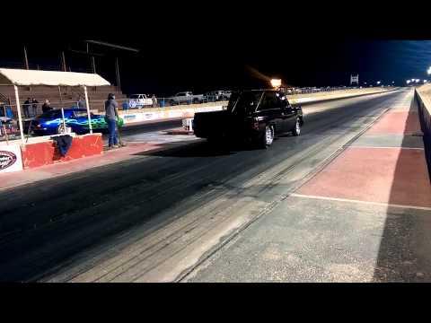 La Pantera, doing wheelie @ desert thunder raceway