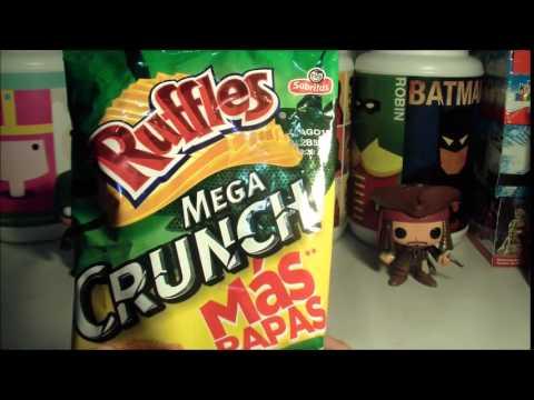 Papas Ruffles Mega Crunch Con Estampa de Avengers Era de Ultrón