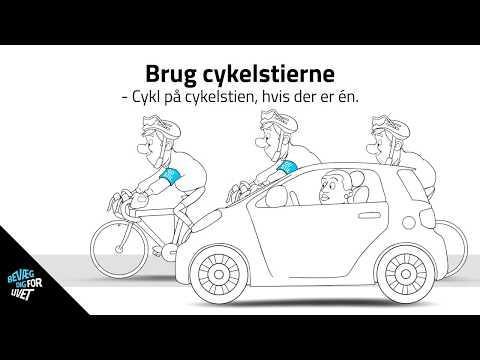GO' STIL på landevejen - Brug cykelstierne