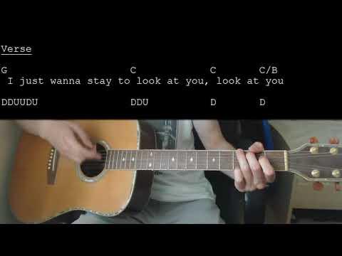 John Mayer - New Light EASY Guitar Tutorial With Chords/Lyrics