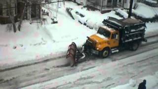 Snow Plowing Convoy 16