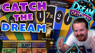 BIG WIN from a 7x Multiplier on Dream Catcher!