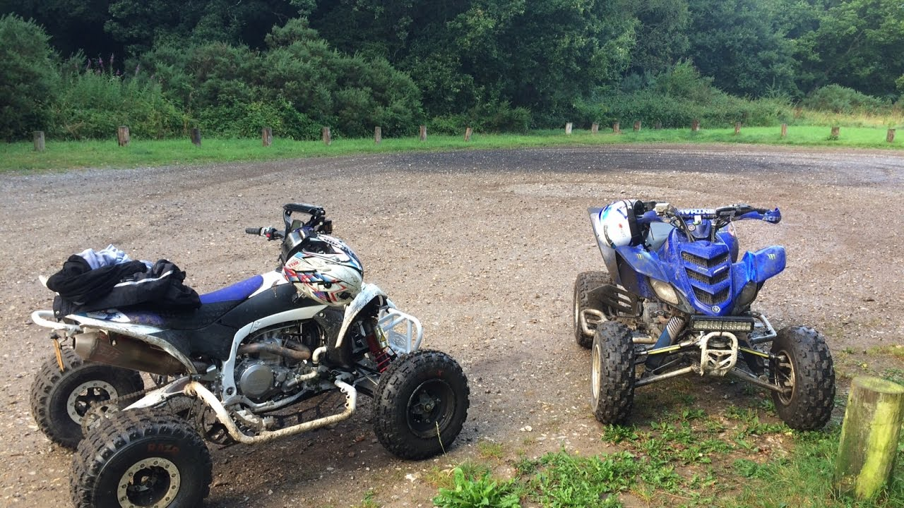 Yamaha yfz45r race atv raptor 700 660 250 road legal quads