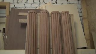 Изготовление деревянной колонны , приспособление , часть 1(Изготовление деревянной колонны , в этой части расскажу про принцип изготовления , скругления колонны..., 2014-11-25T21:18:40.000Z)