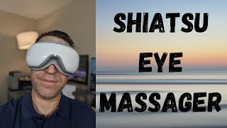 RENPHO Shiatsu Eye Massager With Heat Air Compression and Bluetooth Music