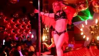 Repeat youtube video Anastasia Sokolova - Perform Pole Dance In A Cabaret Show