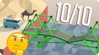 ¡PUENTES CON 2000 de IQ! | Poly Bridge #6