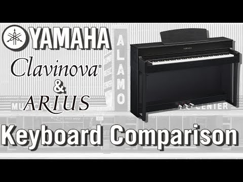 Yamaha Clavinova and Arius ComparisonNew Demos!