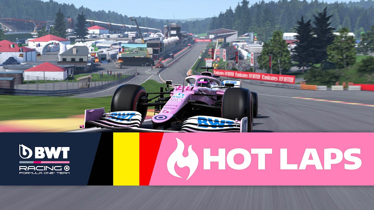 Video: Can you beat Lucas Blakeley around Spa? 1:43.189…