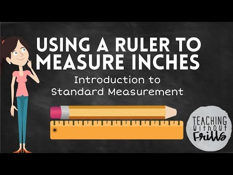 Introduction to Standard Measurement for Kids: Measuring Length in ...