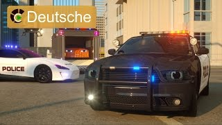 Sergeant Cooper, das Polizeiauto (Deutsche) - Real City Heros (RCH) | Videos für Kinder