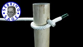 Knot Tying: The Clothesline Hitch